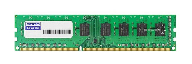 Memory RAM 1x 4GB GoodRAM ECC UNBUFFERED DDR3  1333MHz PC3-10600 UDIMM | W-AMP13334G