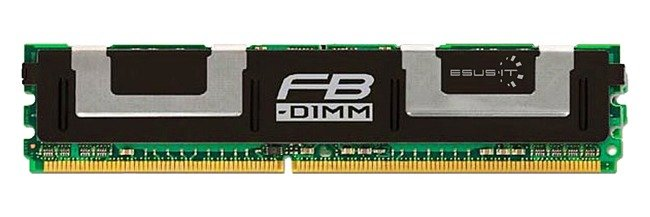Memory RAM 1x 8GB Micron ECC FULLY BUFFERED DDR2 667MHz PC2-5300 FBDIMM | MT72HTS1G72FZ-667